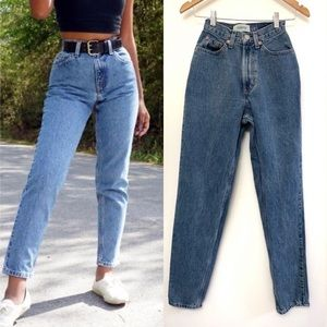 Vintage 90s GAP high rise reverse fit mom jeans